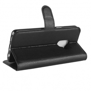 Tasche Wallet Premium Schwarz für Samsung Galaxy S9 G960F Hülle Case Cover Etui - Vorschau 4