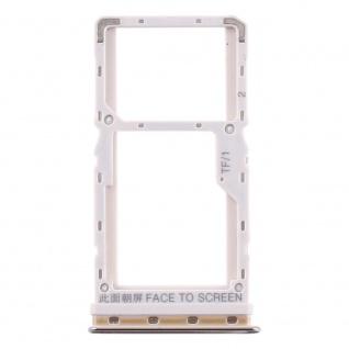 Sim Card Tray für Xiaomi Mi A3 Gold Karten Halter Schlitten Ersatzteil Holder
