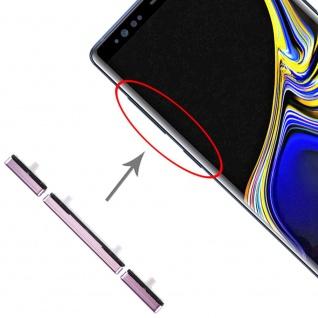 Für Samsung Galaxy Note 9 Sidekeys Seitentasten Lila Ersatz Zubehör Reparatur