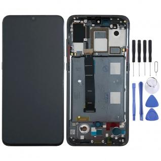 Für Xiaomi Mi 9 Display Full LCD Touch mit Rahmen Ersatz Reparatur Schwarz Neu