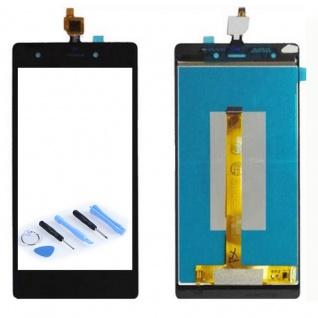 Display Full LCD Komplett Einheit für Wiko Pulp 4G Reparatur Touch Schwarz Neu