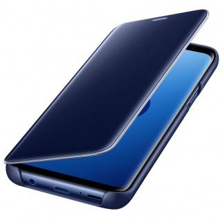 Samsung Flip Tasche Clear View EF-ZG960CLE für Galaxy S9 G960F Hülle Cover Blau - Vorschau 4