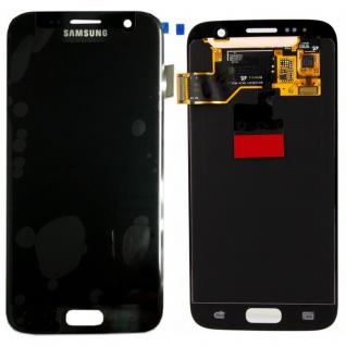Full Display LCD Komplettset Schwarz GH97-18523A für Samsung Galaxy S7 G930F Neu