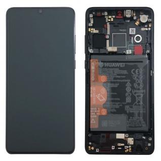Huawei Display LCD Rahmen für P30 Service 02352NLL Schwarz / Black Batterie Neu - Vorschau 4