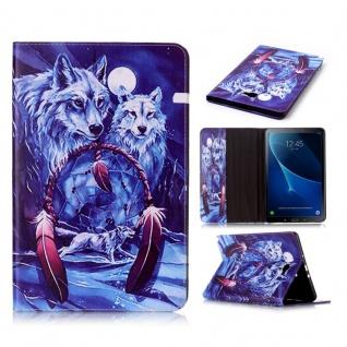 Schutzhülle Motiv 62 Tasche für Samsung Galaxy Tab A 10.1 T580 T585 Hülle Cover