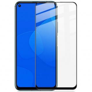 Für Huawei Honor 20 / Nova 5T / 20 Pro 9D Display 0, 3 H9 Hart Glas Schwarz Folie