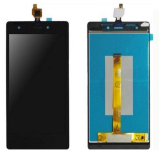 Display Full LCD Komplett Einheit für Wiko Pulp 4G Reparatur Touch Schwarz Neu - Vorschau 2