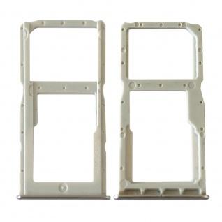 Für Huawei P30 Lite Card Tray Silber Schlitten Karten Halter Ersatz Reparatur