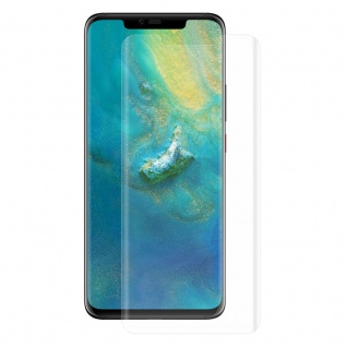 Für Huawei Mate 20 Pro 4D 0, 3 mm H9 Full Curved Display Hart Glas Transparent