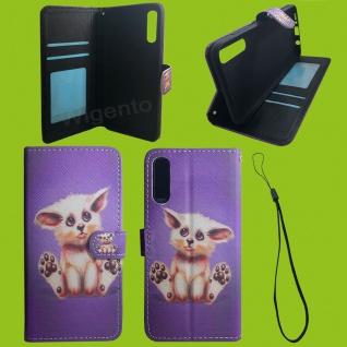 Xiaomi Redmi Note 9S/9 Pro Kunst-Leder Handy Tasche Motiv 51 Hülle Case Cover
