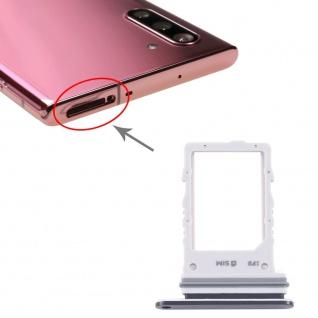 Sim Karten Halter für Samsung Galaxy Note 10 5G Schwarz Card Tray SD Ersatzteil