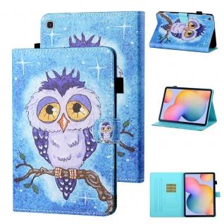 Für Samsung Galaxy Tab A 10.1 2019 T510 Motiv 81 Tablet Tasche Kunst Leder Etuis