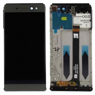 Sony Display LCD Komplett mit Rahmen für Xperia XA Ultra F3211 Schwarz Ersatzteil