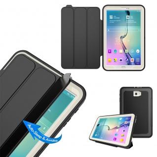 Hybrid Outdoor Schutzhülle Blau für Samsung Galaxy Tab A 10.5 T590 Tasche Hülle - Vorschau 4