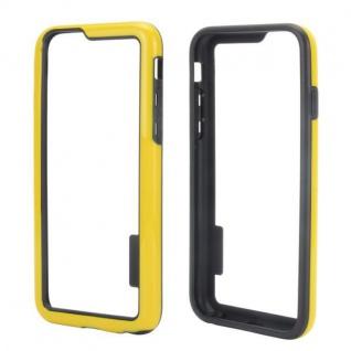 Hybrid Schutz Bumper Gelb Hülle Case Tasche für Apple iPhone 6 4.7 Kappe Neu Top