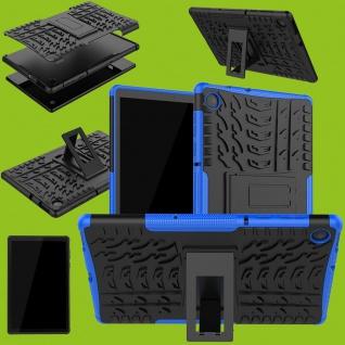 Für Lenovo Tab M10 Plus 10.3 X606F Outdoor Blau Tablet Tasche Etuis Hülle Cover