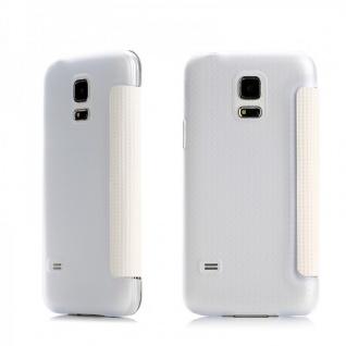 Original ROCK Smartcover Weiss für Samsung Galaxy S5 Mini G800 F A H Case Hülle