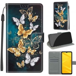 Für ZTE Blade A71 Kunst-Leder Handy Tasche Motiv 5 Hülle Etuis Case Cover Schutz