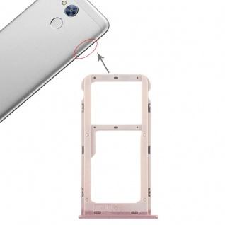 Für Huawei Honor 6A Karten Halter Sim Tray Schlitten Holder Pink Reparatur Neu