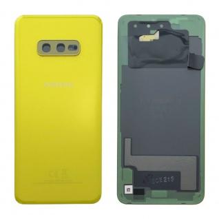 Samsung GH82-18452G Akkudeckel Deckel für Galaxy S10e G970F Klebepad Gelb Ersatz