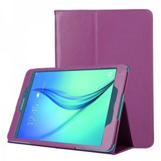 Schutzhülle Lila Tasche für Samsung Galaxy Tab A 9.7 T555N T550 Hülle Case Etui