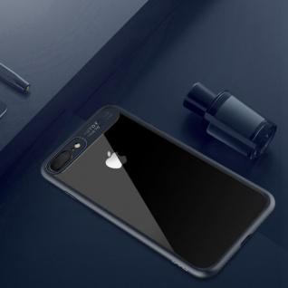 Original ROCK Bumper Case für Apple iPhone 7 Plus / 8 Plus Tasche Hülle Blau Neu