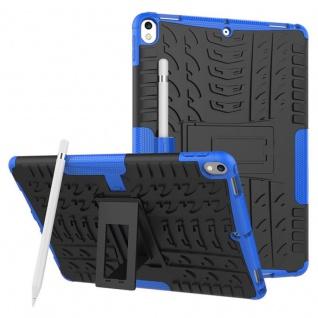 Hybrid Outdoor Schutzhülle Cover Blau für Apple iPad Pro 10.5 2017 Tasche Case