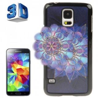Hardcase Design 3D Optik 7 Hülle Case Schale Cover für Samsung Galaxy S5 G900 F