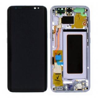Display Full LCD Komplettset GH97-20457C Lila für Samsung Galaxy S8 G950 G950F