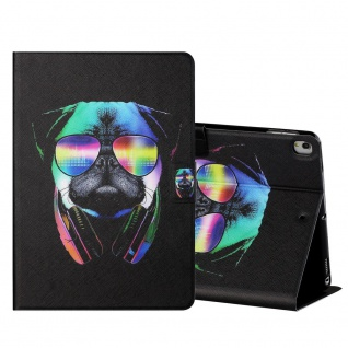 Für Apple iPad 10.2 Zoll 2019 / 2020 Motiv 3 Tablet Tasche Kunst Leder Etuis Neu