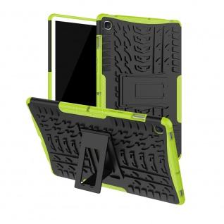 Für Samsung Galaxy Tab S5e 10.5 T720F Outdoor Hybrid Grün Tasche Etuis Hülle Neu