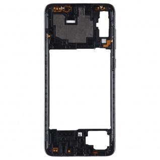Back Housing Frame für Samsung Galaxy A70 Schwarz Bezel Plate Ersatz Reparatur - Vorschau 3