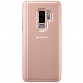 Samsung Flip Tasche Clear View EF-ZG965CFE für Galaxy S9 Plus G965F Cover Gold - Vorschau 4