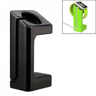 Halterung Schwarz für Apple Watch Ständer Tisch Zubehör Lade Station 38 mm 42 mm