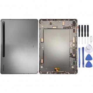 Samsung Akku Deckel Batterie Cover Galaxy Tab S7 Plus 5G T976 GH96-13787A Black