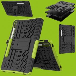 Für Samsung Galaxy Tab S7 T870 / T875 Hybrid Grün Tablet Tasche Etuis Hülle Case
