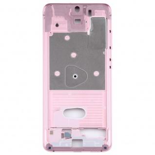 Mittelrahmen Samsung Galaxy S20 5G Pink Middle Frame Zubehör Ersatzteil - Vorschau 3