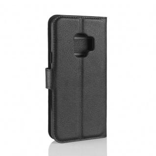 Tasche Wallet Premium Schwarz für Samsung Galaxy S9 G960F Hülle Case Cover Etui - Vorschau 2