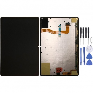 Samsung Display LCD Einheit für Galaxy Tab S7 Plus GH82-23407A Komplett Schwarz