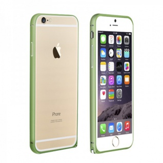 Original LOVE MEI Metall Bumper Grün für Apple iPhone 6 4.7 Schutz Zubehör Hülle