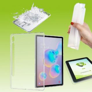 Für Samsung Galaxy Tab S7 2020 Transparent Hülle Tablet Tasche Cover + H9 Glas