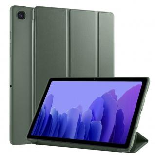 Flip Case Grün für Samsung Galaxy Tab A7 10.4 2020 Tasche Hülle Case Zubehör