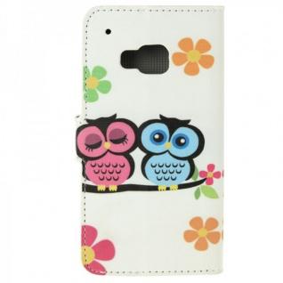 Schutzhülle Muster 72 für HTC One 3 M9 2015 Tasche Cover Case Hülle Etui Schutz - Vorschau 3