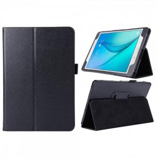 Schutzhülle Schwarz Tasche für Samsung Galaxy Tab A 9.7 T555N T550 Hülle Case