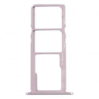 Für Nokia 3.2 Simkarten Halter Card Tray Silber SD Card Ersatz Zubehör Reparatur