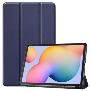 Smart Cover Blau Tasche Etui Hülle für Samsung Galaxy Tab S6 Lite P610 P615 Case