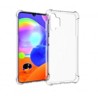 Für Samsung Galaxy A32 5G Handy Tasche Transparent Schock Hülle Etuis Cover Neu