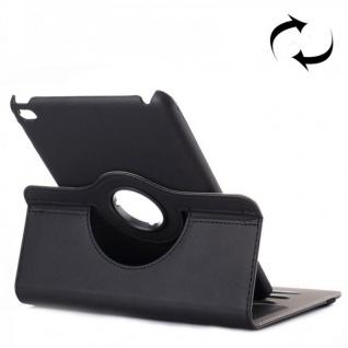 Deluxe Schutzhülle 360 Grad Schwarz Tasche für Apple iPad Mini 4 7.9 Zoll Hülle