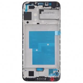 Gehäuse Rahmen Mittelrahmen Deckel für Huawei Y6 2018 Schwarz Reparatur Ersatz - Vorschau 3