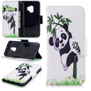 Tasche Wallet Book Muster Motiv 24 für Smartphones Schutz Hülle Case Cover Etui